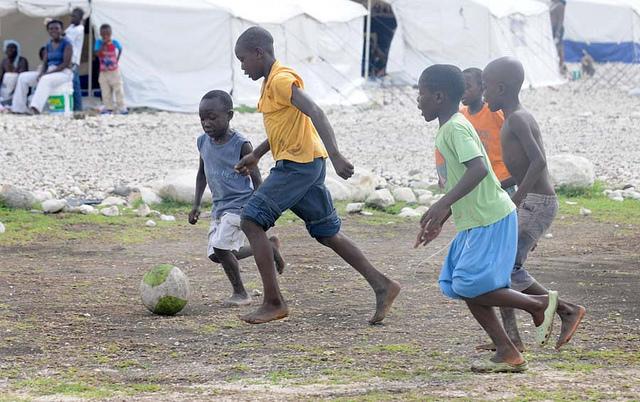 Tabarre Issa IDP camp in Port-au-Prince, Haiti, on June 7, 2010.